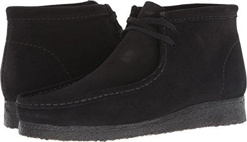 Clarks Men's Wallabee Boot Boot, black suede, 105 M ()