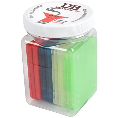 "Bulk Dime Bag Skateboard Risers 1/8"" Colored Riser Pads 8 Sets Shop Display Case"