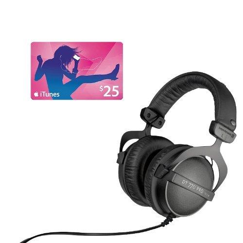 Beyerdynamic DT-770 Pro 32 Headphones with iTunes Gift Card