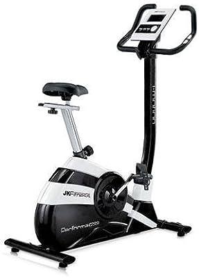 Bicicleta estatica para fitness pantalla de LCD multifuncion JK Performa 1900: Amazon.es: Deportes y aire libre