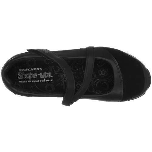Skechers Mujeres Shape Ups Xw Hyperactive Sneaker Black