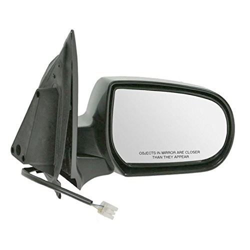 Folding Power Flat Black Side View Mirror Passenger Right RH for 01-06 Tribute AM Autoparts