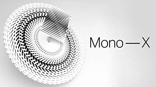 USPCC Mono - X Playing Cards Rare Black & White Limited Custom Cardistry Poker Deck - Optical Illusion