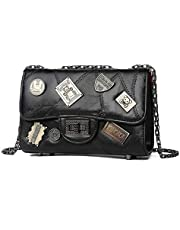 Women's Handbag Shoulder Bag Crossbody Stitched chain bag classic casual