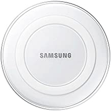 Samsung Qi Certified Wireless Charging Pad only -Supports wireless charging on Qi compatible smartphones including the Samsung Galaxy S8, S8+, Note 8, Apple iPhone 8, iPhone 8 Plus, and iPhone X (US Version) - White Pearl