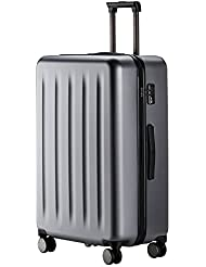 90FUN PC Suitcase Carry on Spinner Wheel Luggage, 20/24/28 Inch, Grey