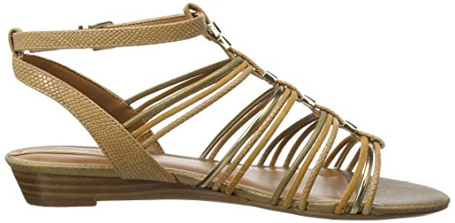 Aldo Mazie, Women's Wedge Sandals Brown (Cognac / 28)