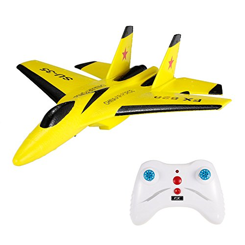 Goolsky Flybear FX-820 2.4G 2CH Remote Control SU-35 Glider 290mm Wingspan EPP Micro Indoor RC Airplane Aircraft RTF