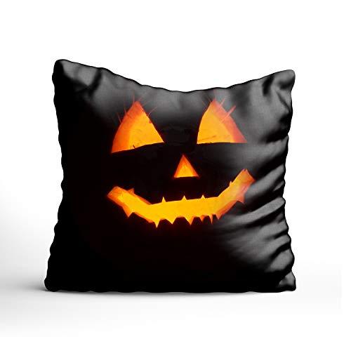 FunnyLife Throw Pillow Case Pumpkin Halloween Decorative Cushion Cover Pillowcase Sofa
