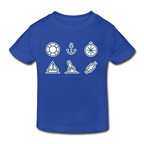 Cotton Awesome Toddler Kid Shirts Ocean Lover