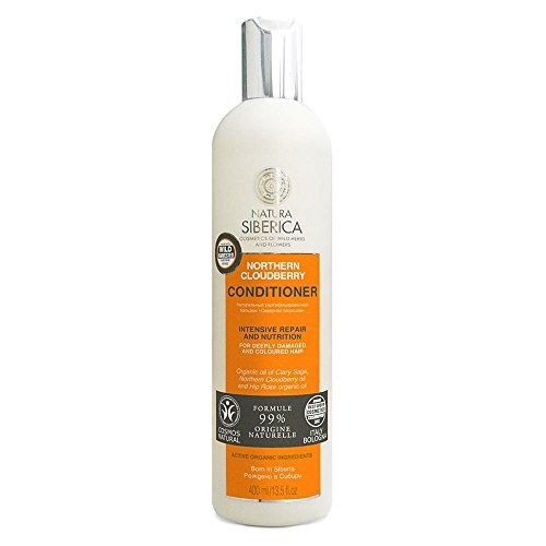 Natura Siberica Hair Care Northern Cloudberry Conditioner 400ml. For deeply damaged and coloured hair. Intensive Repair and ()