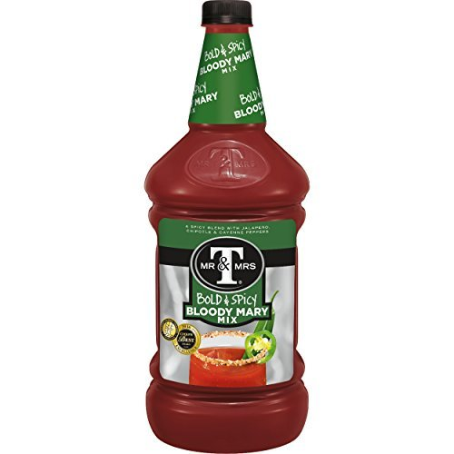 Mr & Mrs T Bold & Spicy Bloody Mary Mix, 1.75 L bottles (Pack of 6) by Mr. & Mrs. T