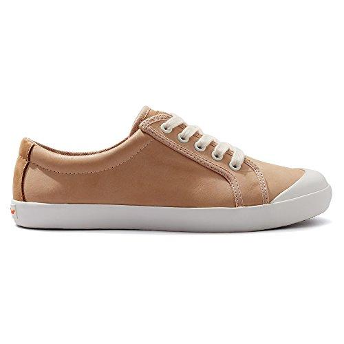 Tommy Bahama Dames Ettana Leer Mode Sneakers Geroosterde Kokosnoot