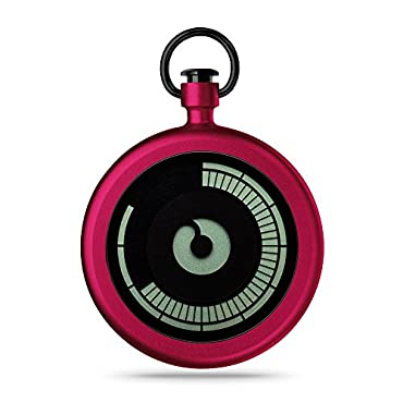 ZIIIRO Titan Pocket Watch Cherry