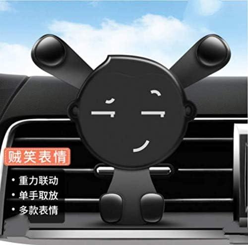 スナップタイプを空気出口の内側にユニバーサルユニバーサル漫画多機能ナビゲーション車でWCRWL自動車電話ホルダー自動車電話ホルダーカー