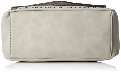 Tamaris Damen Pamela Satchel Bag S Umhängetasche, 11x20x24,5 cm Grau (Light Grey)