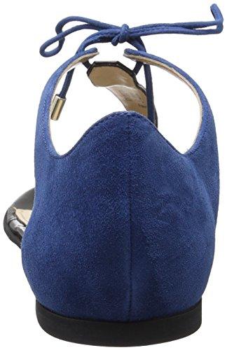 Hugo Felicity 10195652 01, Sandalias con Cuña para Mujer Azul (Medium Blue 429)