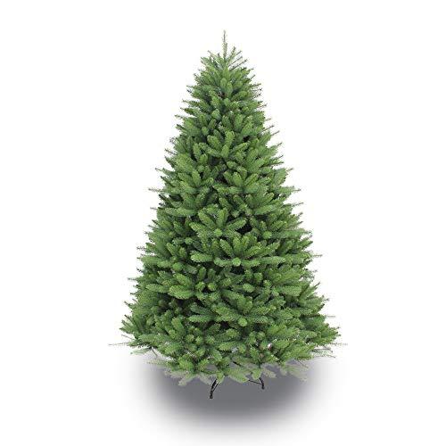 Puleo International 7.5 Foot Un-Lit Premier Douglas Fir Artificial Christmas Tree, Green (Best Hypoallergenic Christmas Trees)