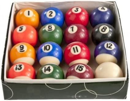 Bolas de billar Pool juego Biliards puntos y rayas Cue Club bolas ...