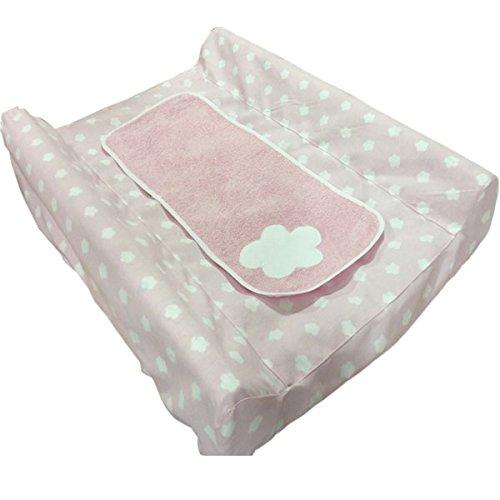 cambiador nubes rosa con colchoneta: Amazon.es: Handmade