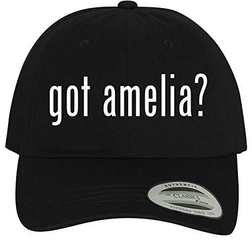 BH Cool Designs got Amelia? - Comfortable Dad Hat Baseball Cap, Black