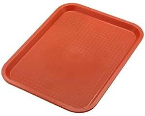 Bandeja Para Servir Cuadrada Tamaño / Color 45 x 35 cm / Rojo