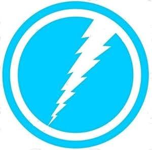 amazoncom marvel comics quicksilver 45quot light blue logo