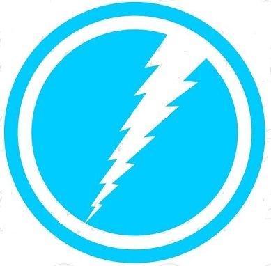 marvel-comics-quicksilver-45-light-blue-logo-decal-sticker-for-laptop-car-window-tablet-skateboard