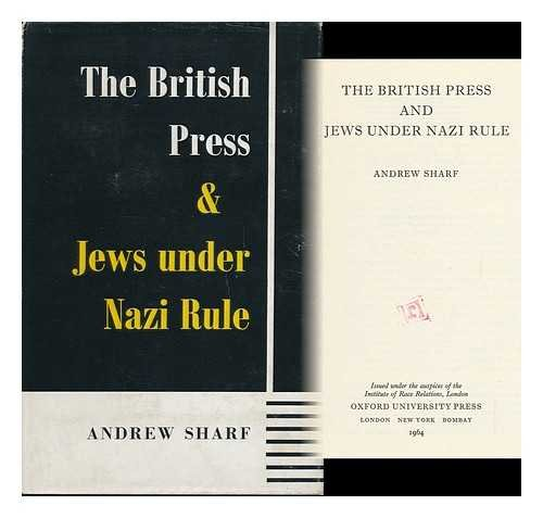 British Press and Jews Under Nazi Rule (Institute of Race Relations)