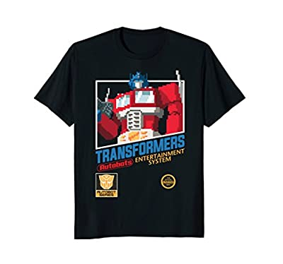 Transformer Optimus Prime Video Game Cartridge T-Shirt