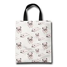 Pugs Reusable Light Grocery Bag