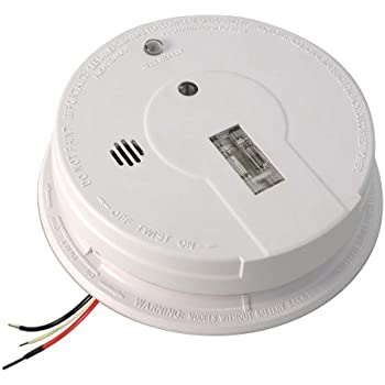 Kidde i12080 Hardwired Smoke Alarm with Exit Light and Battery Backup