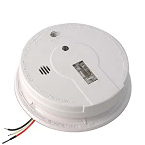 Kidde i12080 Hardwire Smoke Alarm with Exit Light and Battery Backup