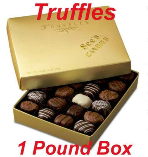 See's Candies 1 lb. Truffles by Sees Candies
