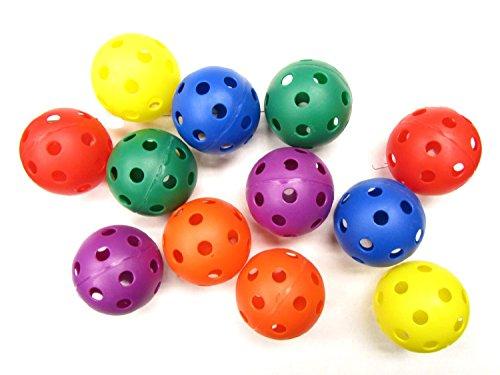 Generic Plastic Baseballs - 12 PACK by Generic