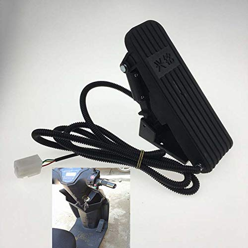 TOOGOO Foot Pedal Throttle Foot Pedal Accelerator Electric Car Accelerator Pedal Speed Control Bicycle conversion kit