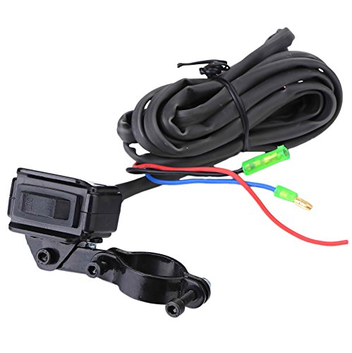 BIZ Tow Recovery Winch 4500lbs Capacity Electric Winch Synthetic Rope Winch for ATV/UTV/Small SUV or Buggy,4500D-1S by BIZ (Image #3)