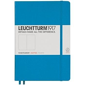 Leuchtturm1917 Hardcover Medium Dotted Journal [Azure]