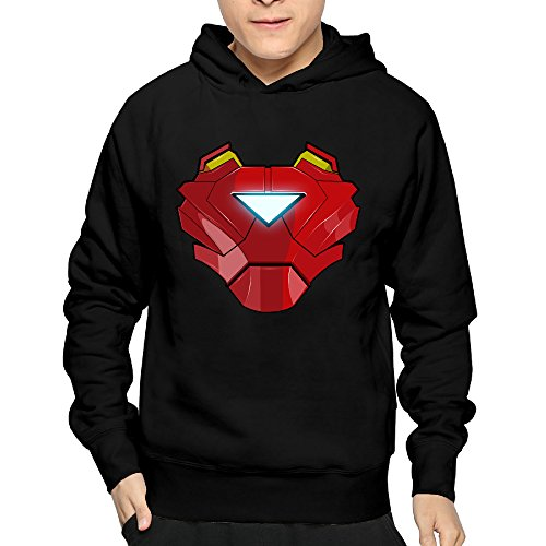 Boyfriend Hero Iron Man Armour Armor Cool Hooded Sweatshirt Pullover ()