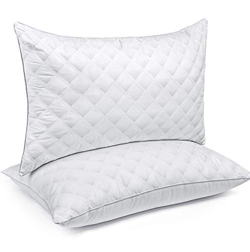 SORMAG Bed Pillows for Sleeping Set of 2, Standard Size 20 x 26 Inches, Luxury Hotel Collection Gel Pillows 2 Pack…