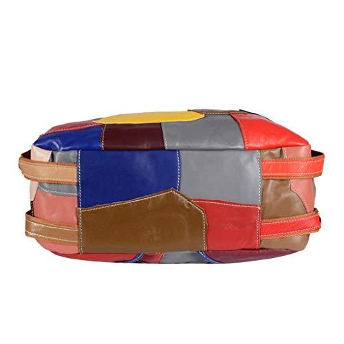 Tracolla 1 Dimensioni Da Donna Cuciture 1 Con A S Rxf In Pelle Borsa colore q46EwF