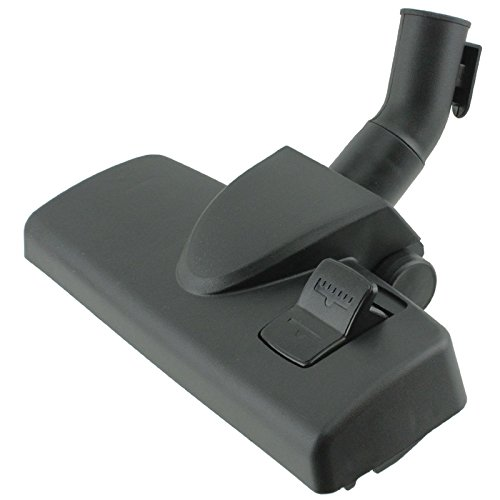 SPARES2GO 35mm Wheeled Floor Tool Brush Head for MIELE Complete C1 C2 C3 Classic Powerline Silence Ecoline Vacuum Cleaner by Spares2go