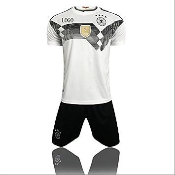 mqtwer Camisetas del Equipo De Alemania 2018 Uniformes Nacionales De Fútbol Uniforme De La Corte Local