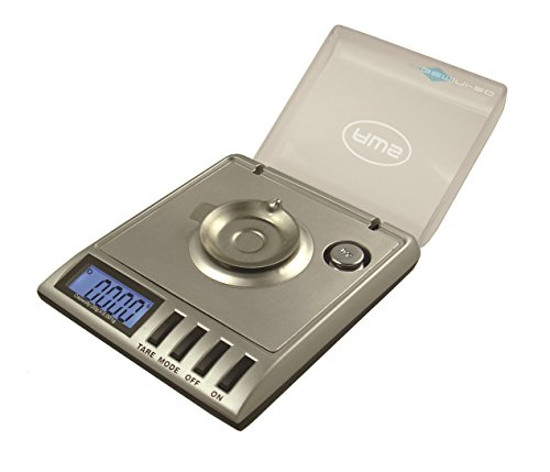 American Weigh Scales GEMINI-20 Portable MilliGram Scale, 20 by 0.001 G