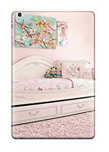 Hot New Premium Flip Case Cover White Daybed In Pink Girl8217s Bedroom Skin Case For Ipad Mini 2 8812622J91034951