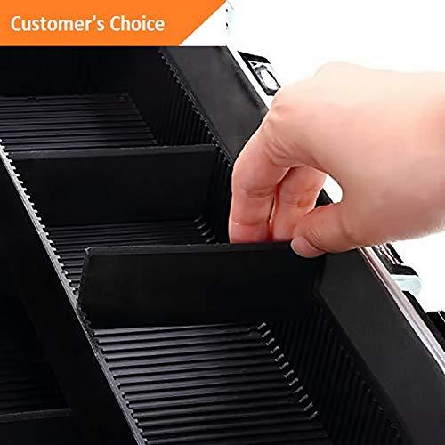 Werrox Pro Cosmetic Organizer Makeup Jewelry Case Holder Train Storage Box   Model MKPRGZR - 239  