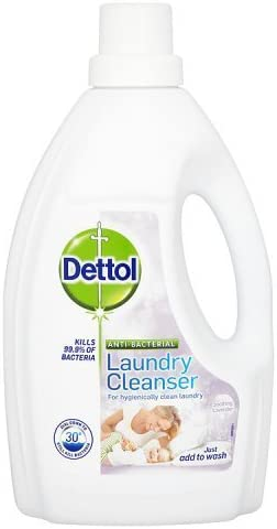 Dettol Anti Bacterial Laundry Cleanser Soothing Lavender 1 5l By