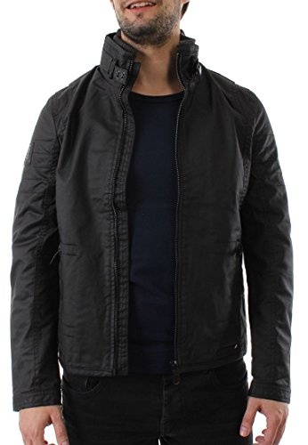 Superdry Bomberjacke Men MOODY SLIM RACER Black