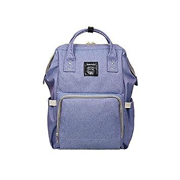 9db36212af0aa Amazon.com   Mummy Maternity Nappy Bag Brand Large Capacity Baby Bag Travel  Backpack Desiger Nursing Bag (Blue)   Baby