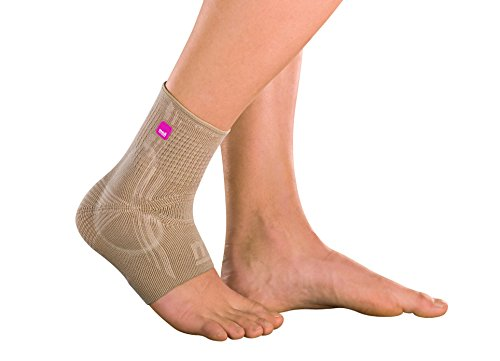 Levamed® ANKLE SUPPORT WITH SILICONE INSERTS, Beige, I
